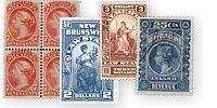 E S J van Dam canada revenue stamps